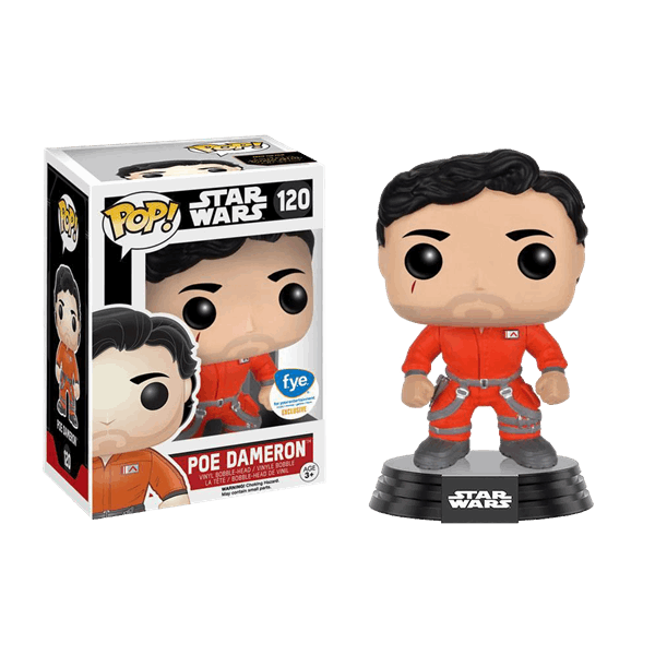 Star Wars - Episode VII - Poe Dameron in Jumpsuit Pop! Vinyl Figure - Packshot 1