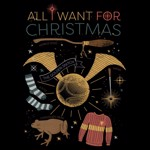 Harry Potter - All I Want For Christmas T-Shirt - Packshot 2