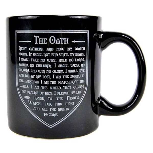 Game of Thrones - Nights Watch Oath Mug - Packshot 1