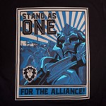 World of Warcraft - Alliance Propaganda T-Shirt - XL - Packshot 2