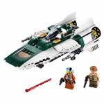Star Wars - LEGO Resistance A-Wing Starfighter - Packshot 2