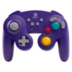 Nintendo Switch PowerA Wireless Gamecube Controller - Purple - Packshot 1