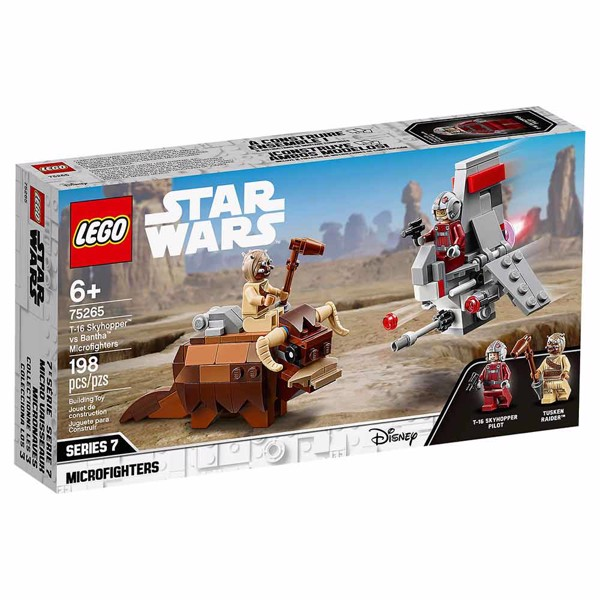 Star Wars - LEGO T-16 Skyhopper vs Bantha Microfighters - Packshot 5