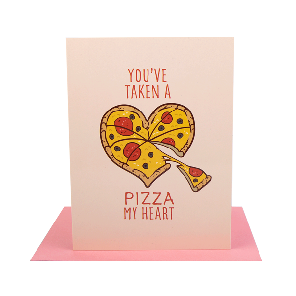 Valentine's Day - Pizza my Heart Card - Packshot 1