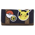 Pokemon Pikachu Patches Loungefly Flap Wallet - Packshot 1