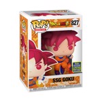 Dragon Ball Z - Super Saiyan God Goku With flames SDCC 2020 Pop! Vinyl Figure - Packshot 2