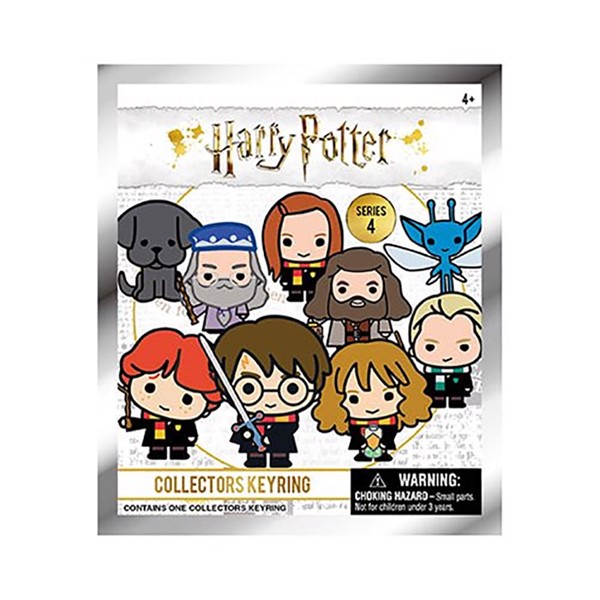 Harry Potter - Series 4 Blind Bag 3D Keyring (Single Bag) - Packshot 1