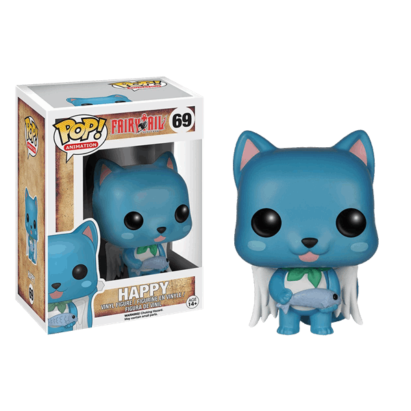 Fairy Tail - Happy Pop! Vinyl Figure - Packshot 1