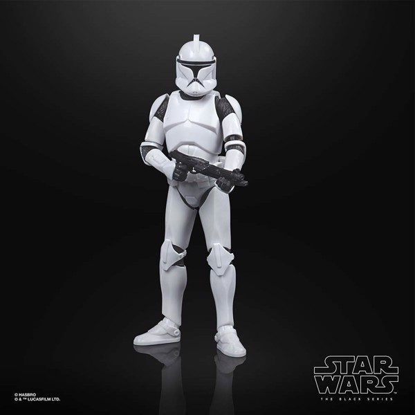 Star Wars - The Clone Wars - The Black Series Phase 1 Clone Trooper 6-Inch-Scale Deluxe Action Figure - Packshot 3