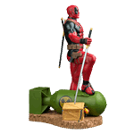 Marvel - Deadpool on Atom Bomb 1/6 Scale Statue - Packshot 4