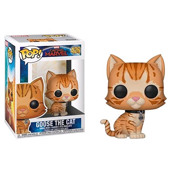 Marvel - Captain Marvel - Goose the Cat Pop! Vinyl Figure - Packshot 1