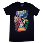 DC Comics - Justice League - Fractured Characters T-Shirt - Packshot 1