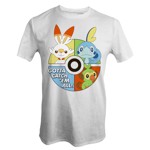 Pokemon - Sword and Shield T-Shirt - XS - Packshot 1