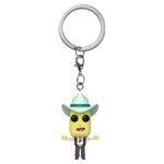 Rick and Morty - Mr Poopy Butthole Auctioneer Pocket Pop! Keychain - Packshot 1