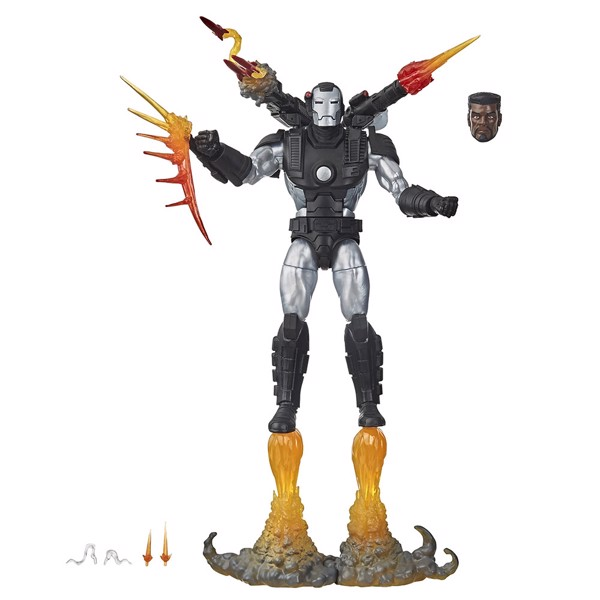 Marvel - Marvel Legends Series Deluxe War Machine Action Figure - Packshot 1