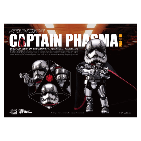 Star Wars - Captain Phasma Egg Attacks Figure - Packshot 3
