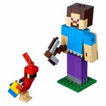 Minecraft - LEGO Steve BigFig with Parrot - Packshot 3