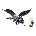 How to Train Your Dragon - Hiccup and Toothless PlayMobil Construction Set - Packshot 1