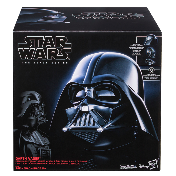 Star Wars - The Black Series Darth Vader 1/1 Scale Premium Electronic Helmet - Packshot 2