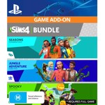 The Sims™ 4 Bundle - Seasons, Jungle Adventure, Spooky Stuff (Game Add-On) - Packshot 1