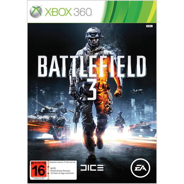 Battlefield 3 - Packshot 1