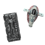 Star Wars - Episode V - Han Solo in Carbonite & Slave I Magnet 2-Pack - Packshot 1