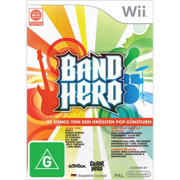 Band Hero Standalone - Packshot 1