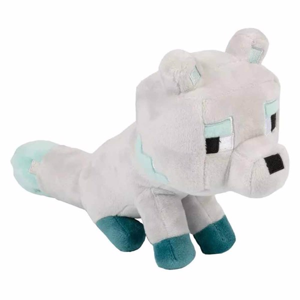 Minecraft - Happy Explorer Snow Fox Plush - Packshot 1