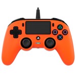 Nacon PS4 Wired Gaming Controller - Orange - Packshot 1