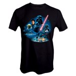 Star Wars - Empire Strikes Back 40th Anniversary Vader Group T-Shirt - L - Packshot 1