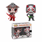 Overwatch - Hanzo & Genji Pop! Vinyl Figure 2-Pack - Packshot 1