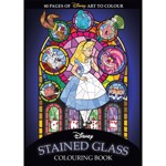 Disney - Stained Glass Colouring Book - Packshot 1