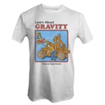 Steven Rhodes - Learn About Gravity T-Shirt - S - Packshot 1