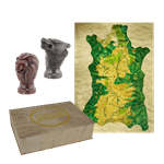 Game of Thrones - Map Marker Set with Westeros Map - Packshot 1