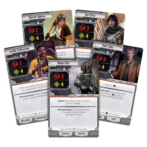 Star Wars - Outer Rim Board Game - Packshot 4