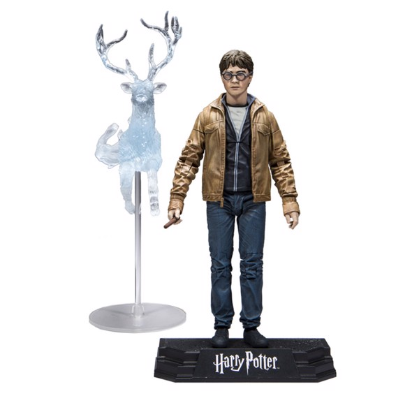 Harry Potter - Deathly Hallows Part 2 - Harry Potter With Patronus Action Figure - Packshot 1