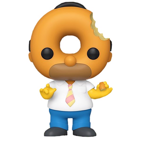 The Simpsons - Treehouse Of Horror Homer Donut Head Pop! Vinyl Figure - Packshot 1