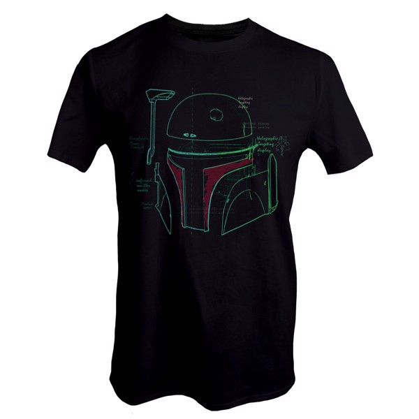 Star Wars - Boba Fett Helmet T-Shirt - Packshot 1