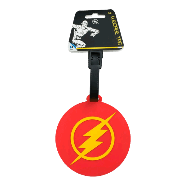 DC Comics - The Flash Logo Bag Tag - Packshot 1