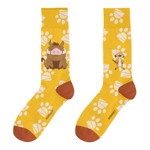 Disney - 90s Lion King Yellow Socks - Packshot 1