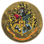 Harry Potter - Hogwarts Crest Circular Doormat - Packshot 1