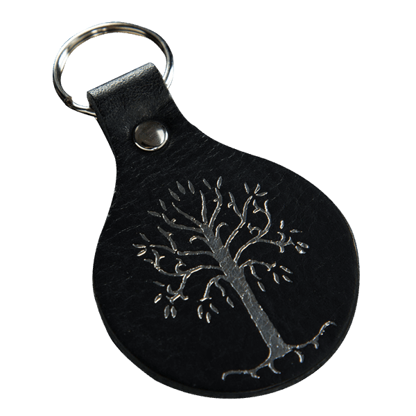 333a4941b6 Lord of the Rings - White Tree of Gondor Leather Keyring - ZiNG Pop ...