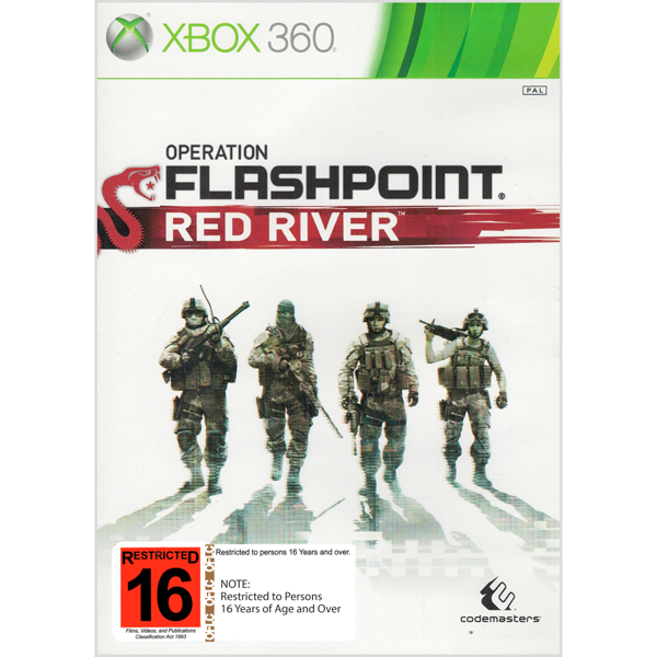 Operation Flashpoint: Red River - Packshot 1