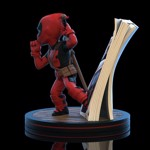 Marvel - Deadpool - Deadpool 4D Q-Fig Diorama - Packshot 2