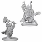 Dungeons & Dragons - Nolzur's Marvelous Miniatures - Dwarf Male Paladin - Packshot 1