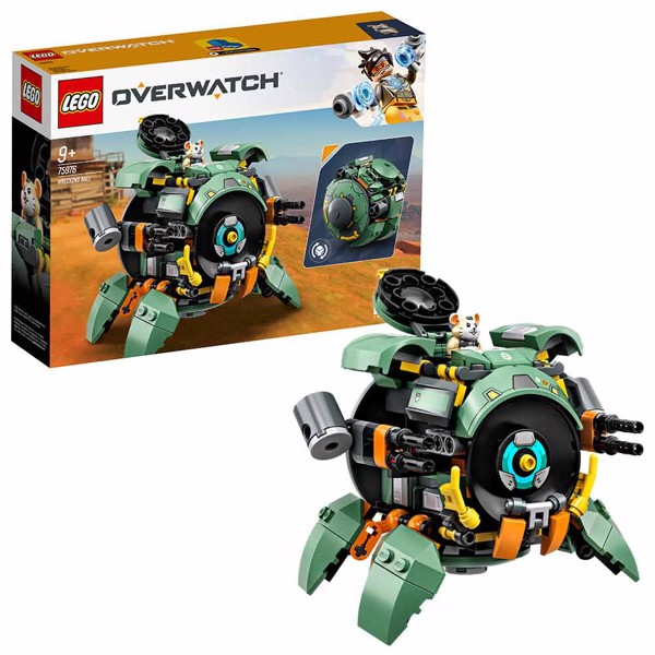 LEGO - Overwatch - Wrecking Ball Set - Packshot 1