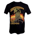 Minecraft - Fear The Creeper T-Shirt - Packshot 1
