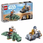 Star Wars - LEGO Escape Pod vs Dewback Microfighters - Packshot 1