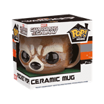 Marvel - Guardians of the Galaxy - Rocket Raccoon Pop! Ceramic Mug - Packshot 2