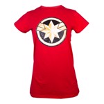 Marvel - Captain Marvel - Logo T-Shirt - Packshot 1